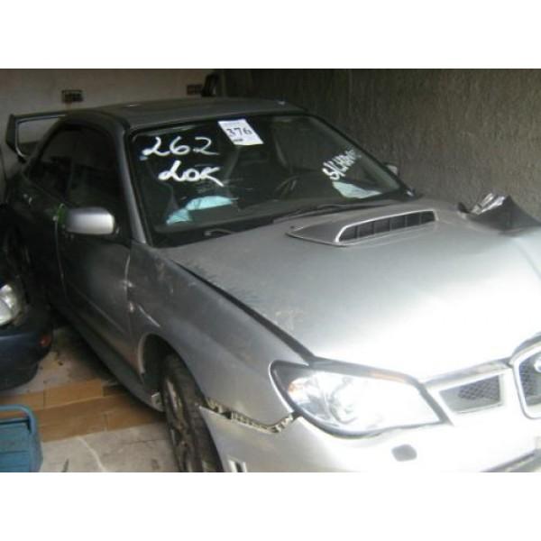 Subaru Wrx  Ano 2007 Sucata Peças - Planeta Motor