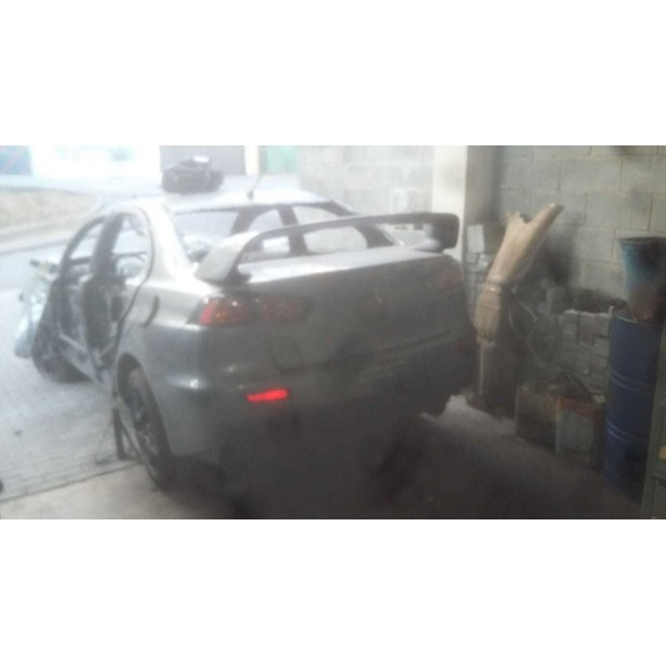 Mitsubishi Lancer Evolution Ano 2012 Sucata Para Peças
