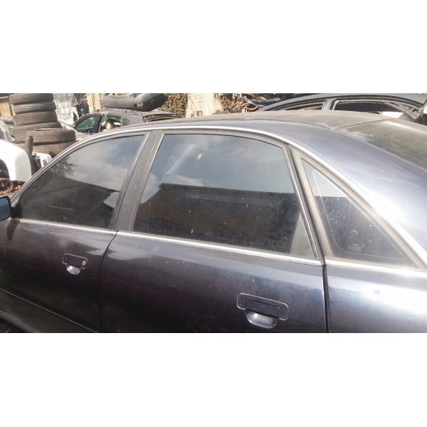 Vidro De Porta Audi A4 Ano 96 Ano 2001  Traseiro Esquerdo