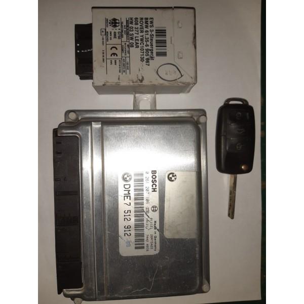 Kit Code Bmw X5 V8 Dme 7512912