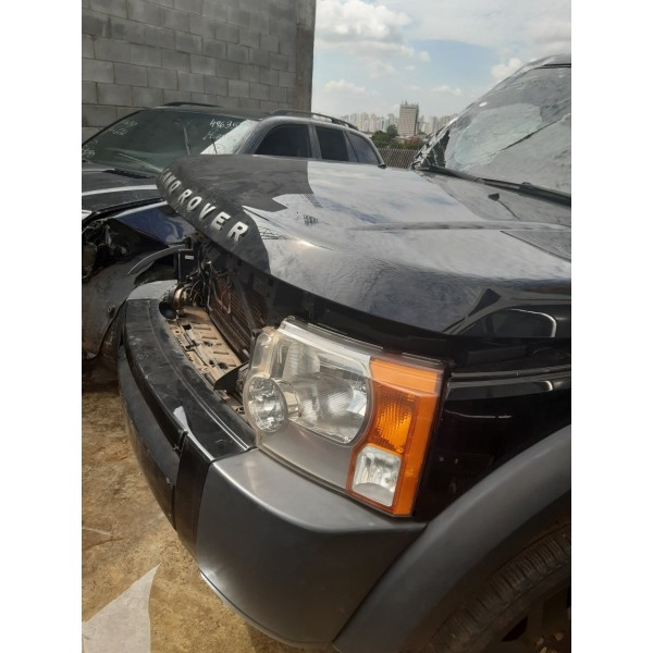 Motor Câmbio Faróis Capô Lanternas Land Rover Discovery 3