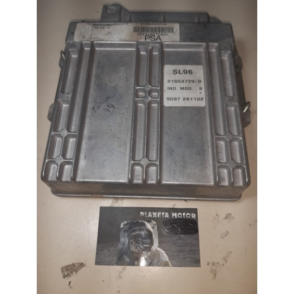 Módulo De Injeção Eletrônica Peugeot 206 1.6 16v 21653729-0