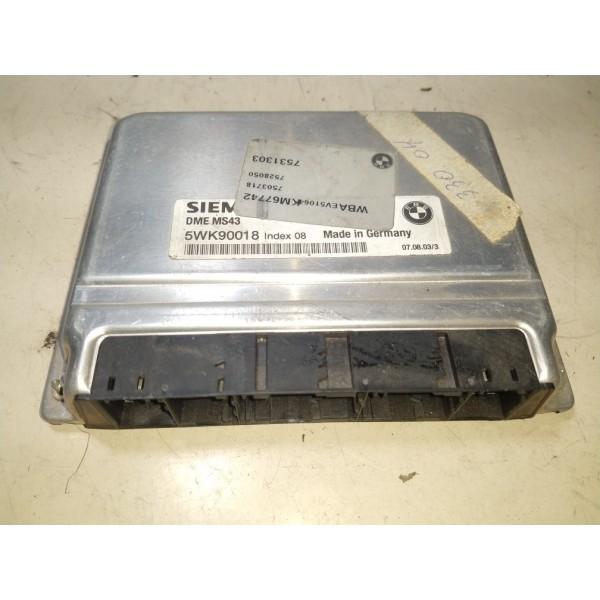 Modulo Injeção Bmw X5 325 320 -  5wk90018