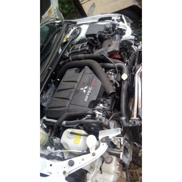 Capa Do Motor Mitsubishi Lancer Ralliart Turbo