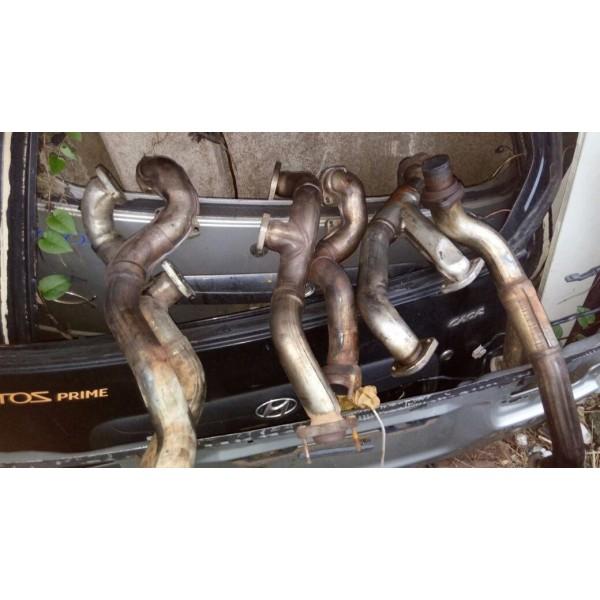 Conjunto De Coletor De Escape Bmw 540/740 Motor V8