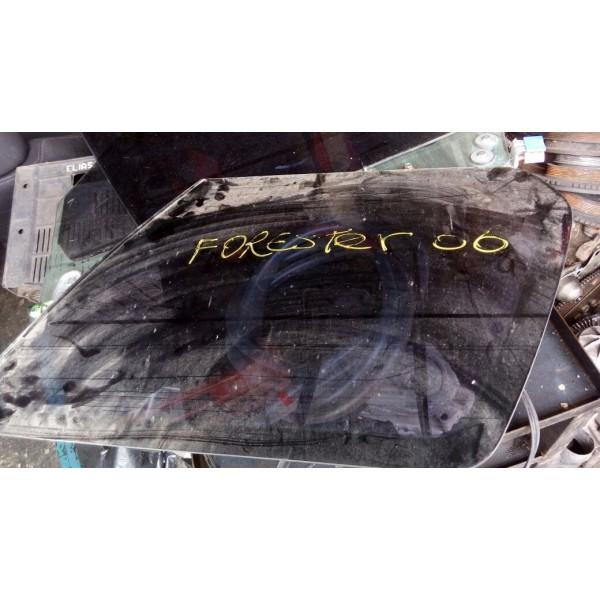 Vidro De Porta Traseiro Esquerdo Subaru Forester Ano 2006
