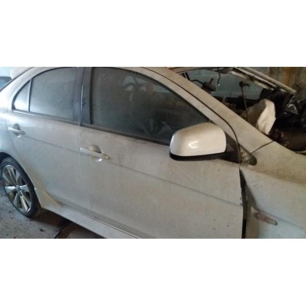 Retrovisor Mitsubishi Lancer Sportback Ralliart Lado Direito