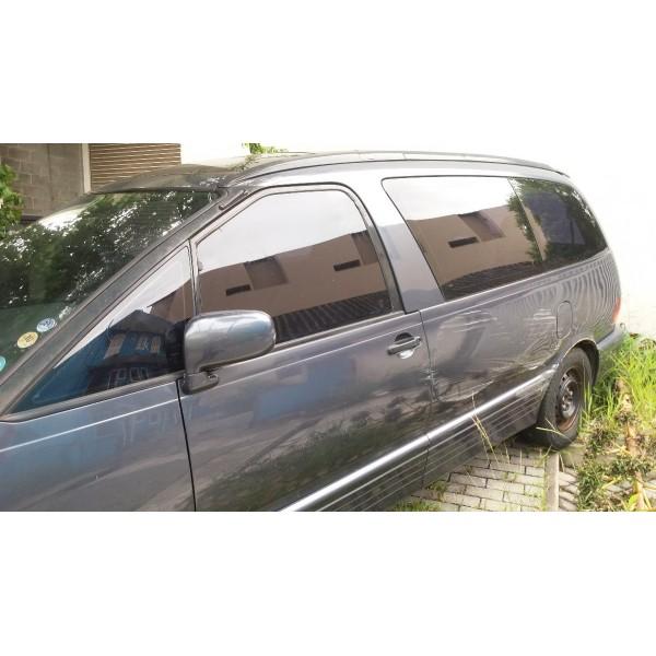 Vidro Porta Mala Lateral Toyota Previa Lado Esquerdo